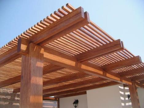 pergola madera fina - Pergola Madera