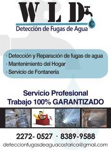 Detección Fugas Agua Potable y Fontanería