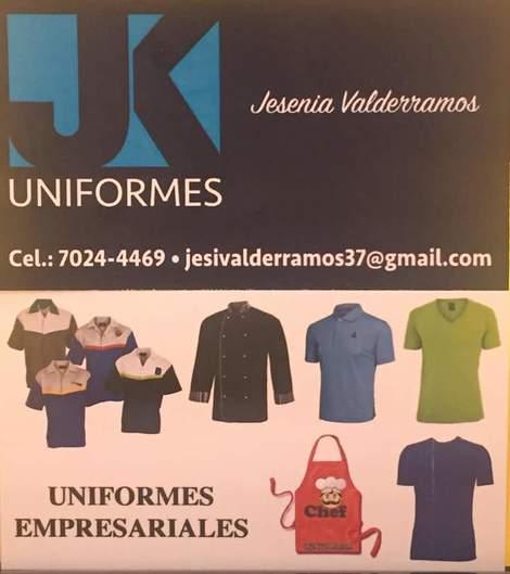 • Uniformes JK • Tres Ríos • La Unión 100041c61b867