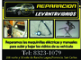 REPARACION LEVANTAVIDRIOS
